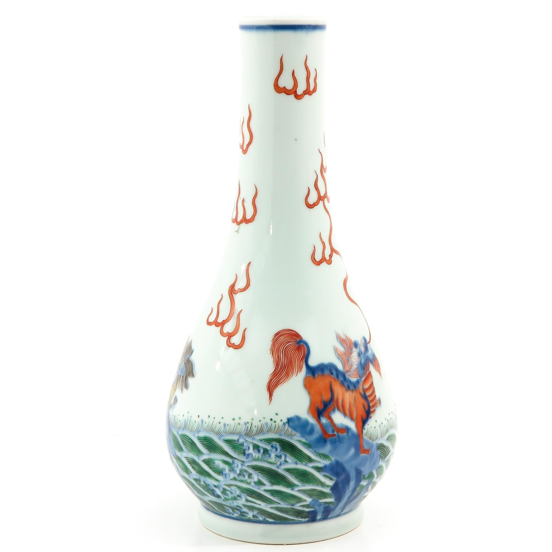 A Doucai Decor Vase - Image 2 of 9