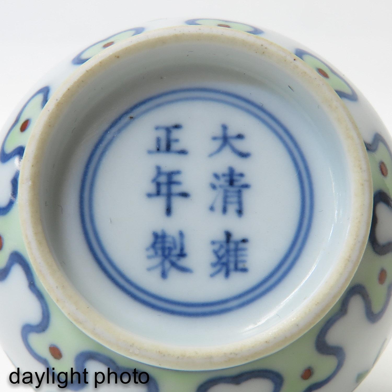 A Small Doucai Decor Vase - Image 9 of 10