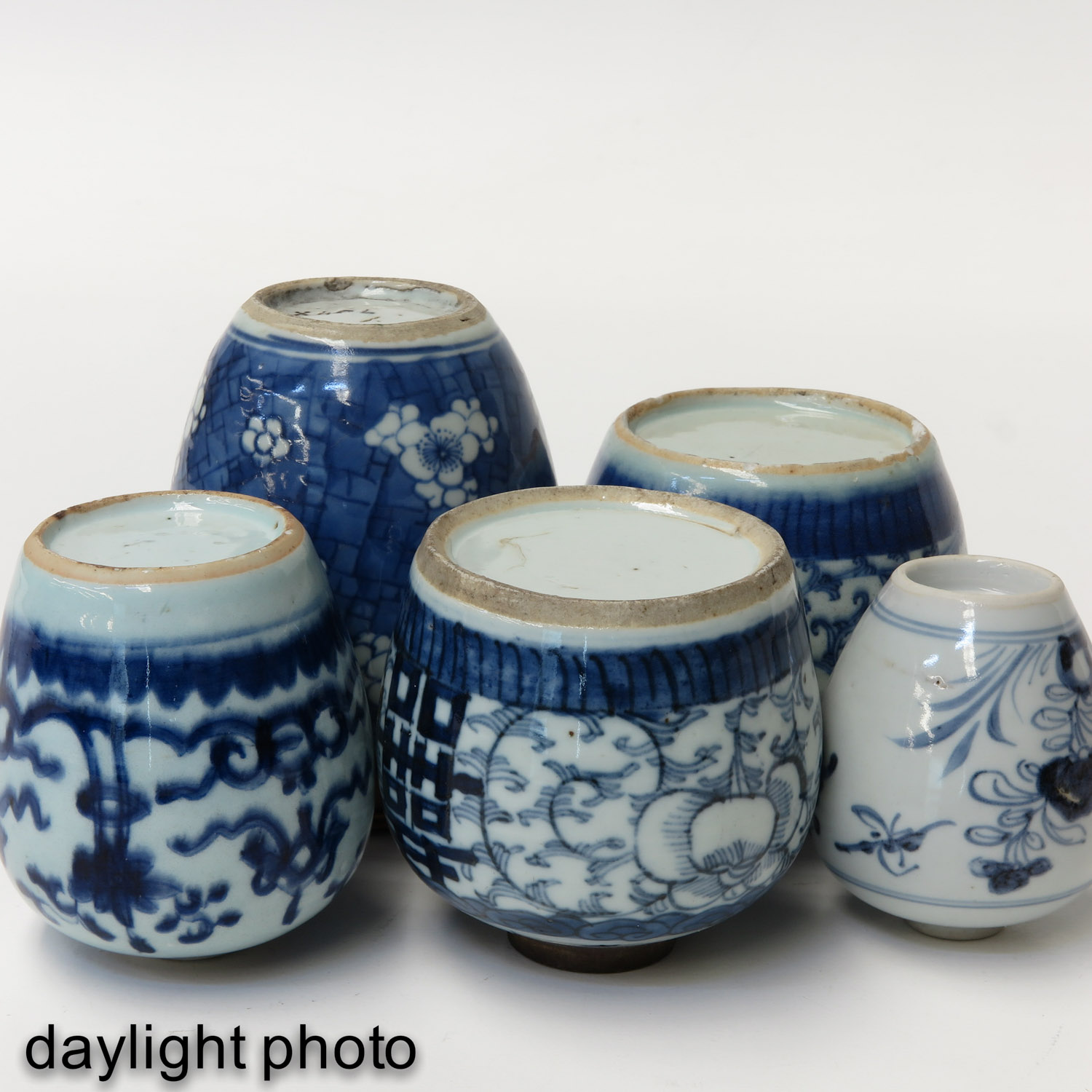 A Collection of 5 Ginger Jars - Image 8 of 10