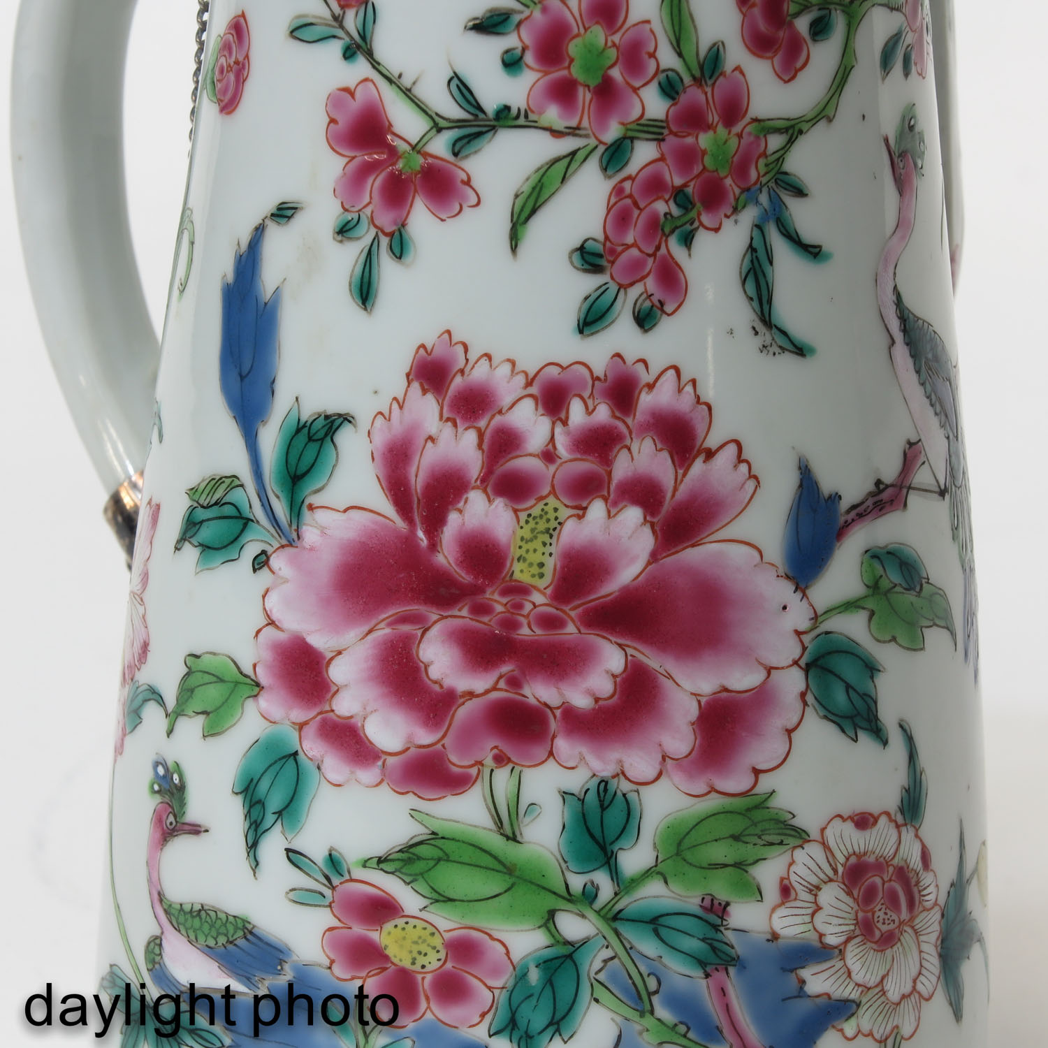A Famille Rose Chocolate Pot - Image 10 of 10