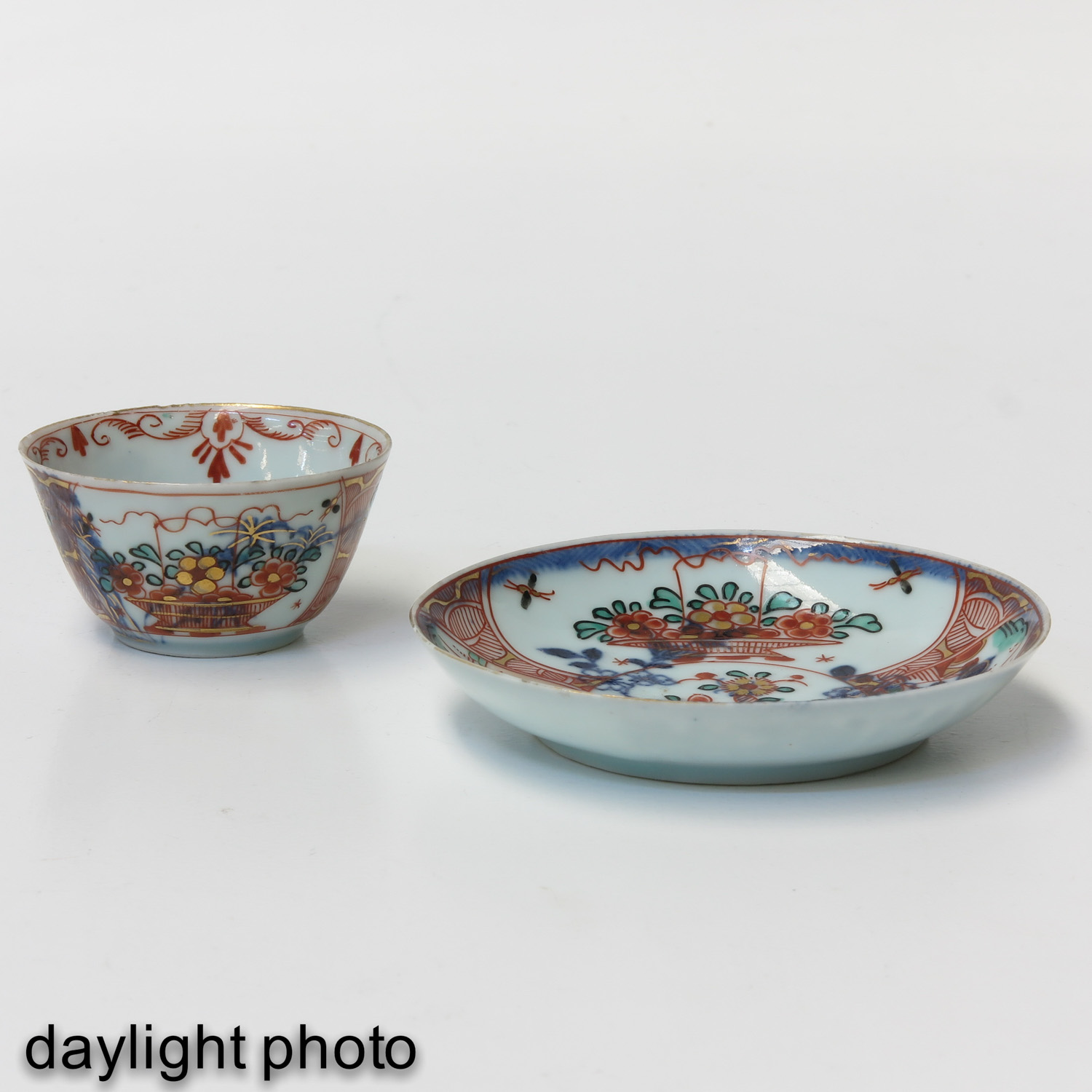 A Series of 6 Cups and Saucers - Image 9 of 10