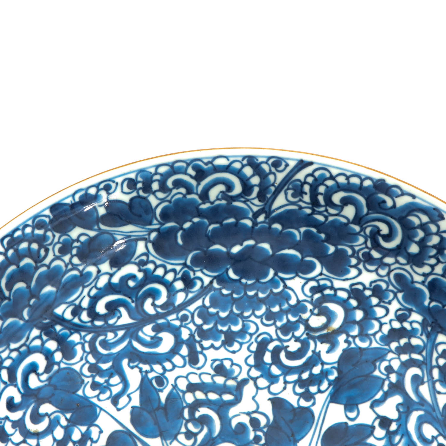 A Blue and White Charger - Image 3 of 7