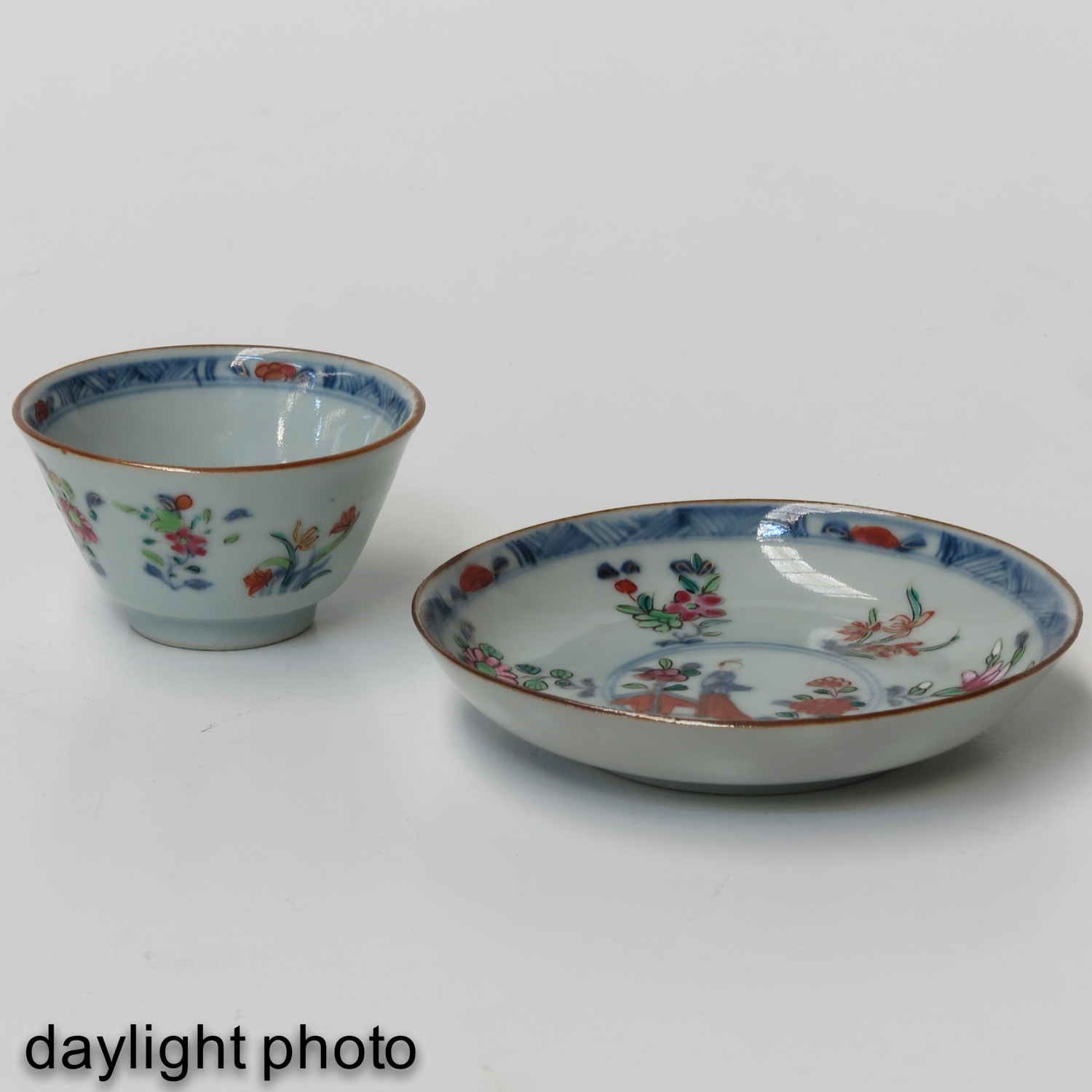 A Set of 6 Cups and Saucers - Image 9 of 10