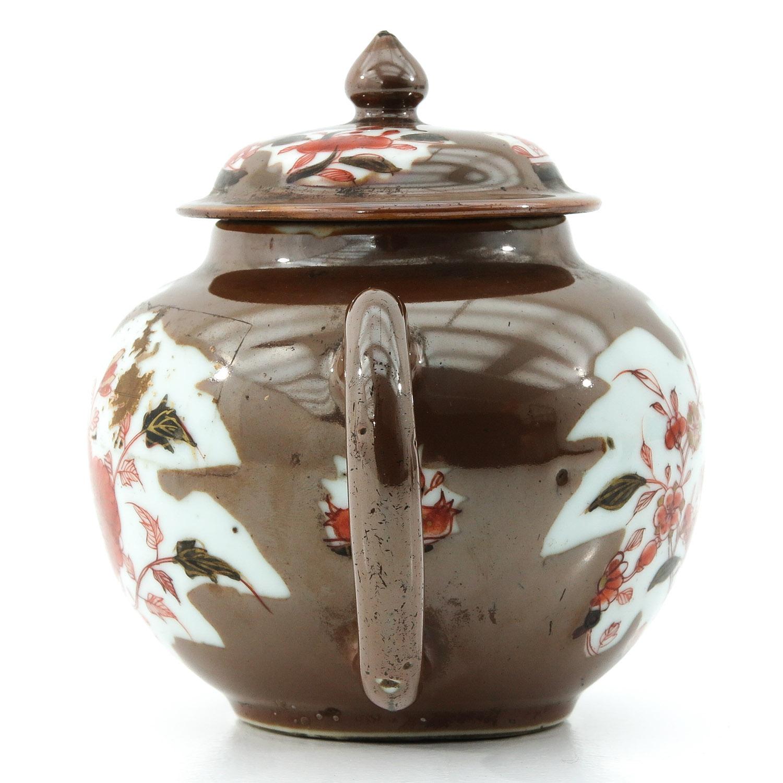 A Batavianware Teapot - Image 2 of 9