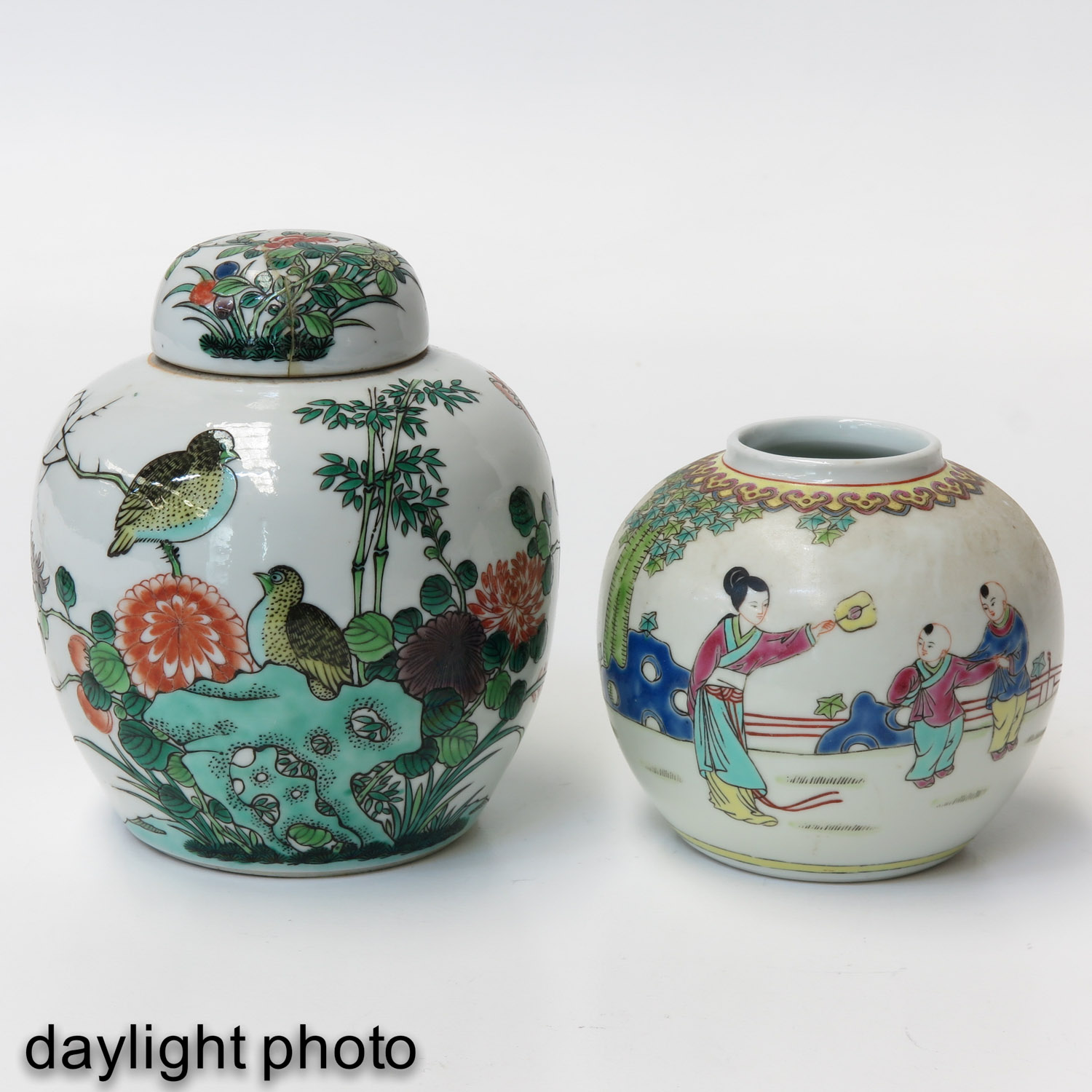 A Lot of 2 Ginger Jars - Image 7 of 9