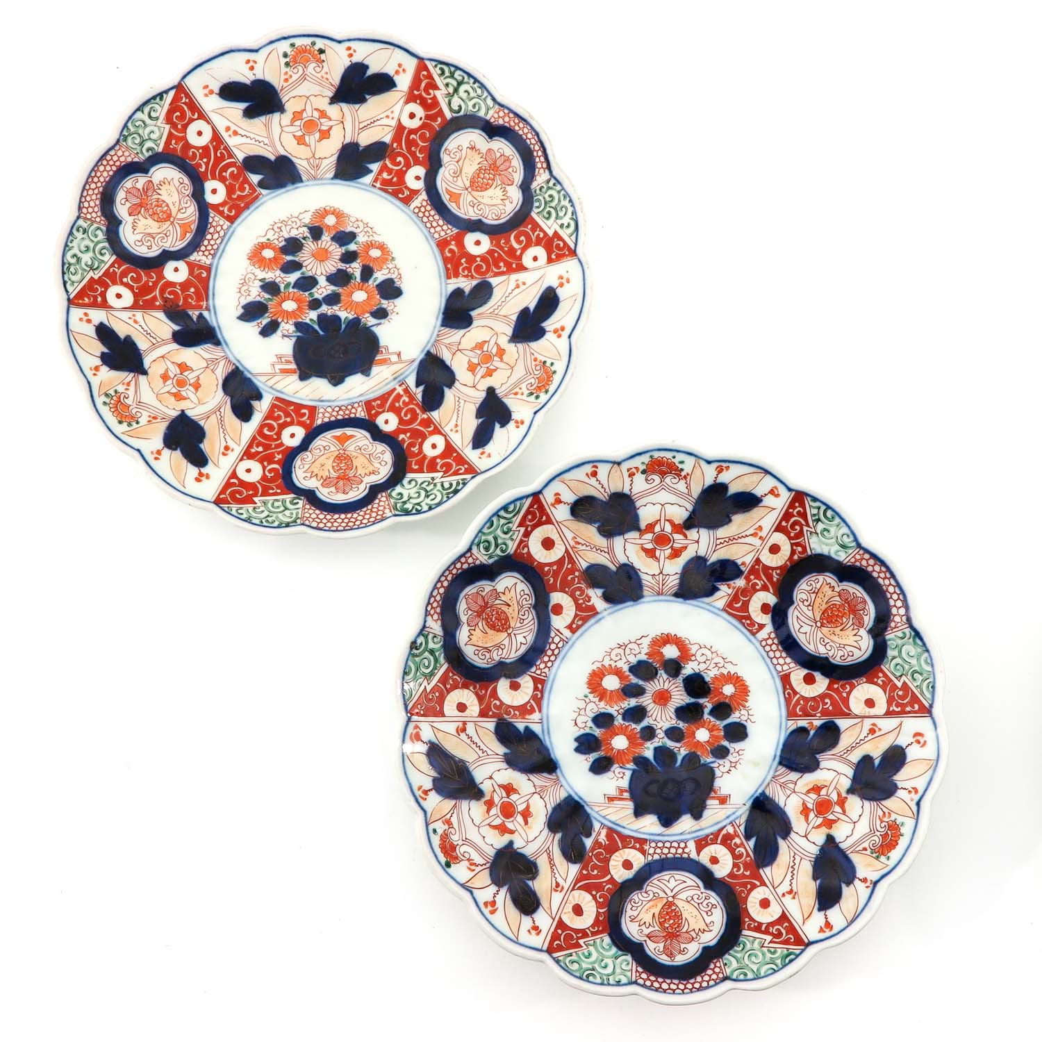 A Collection of 4 Imari Plates - Image 5 of 10