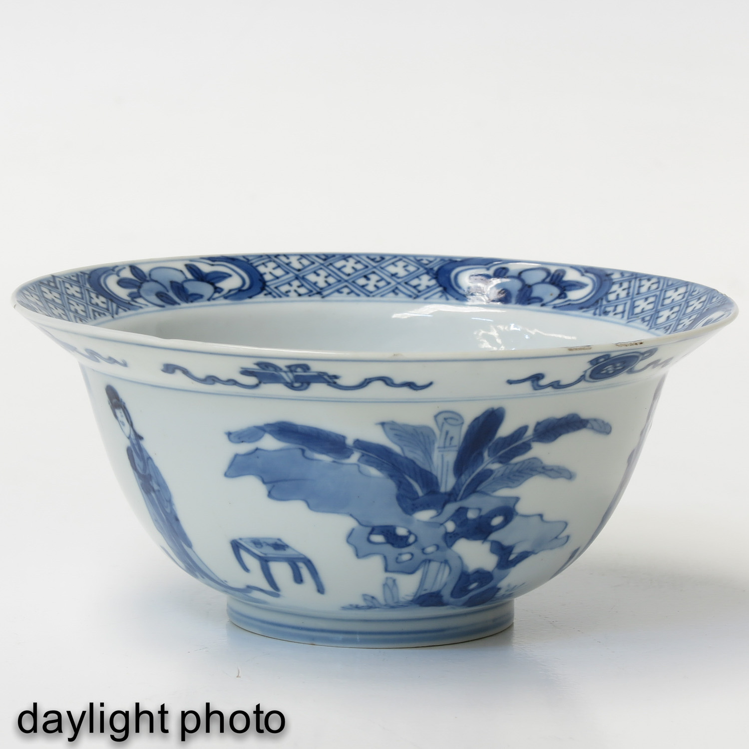 A Blue and White Bowl - Image 7 of 10