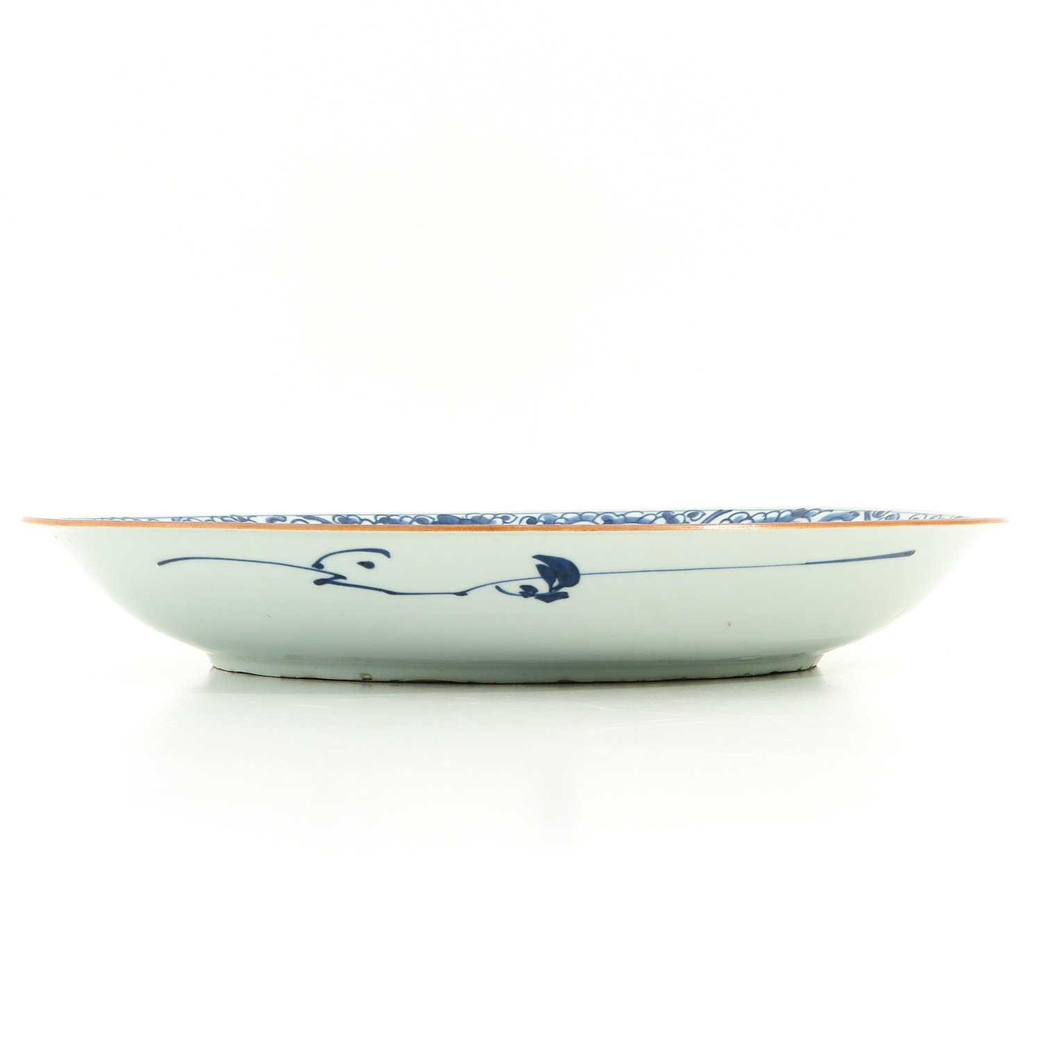 A Blue and White Charger - Image 4 of 7
