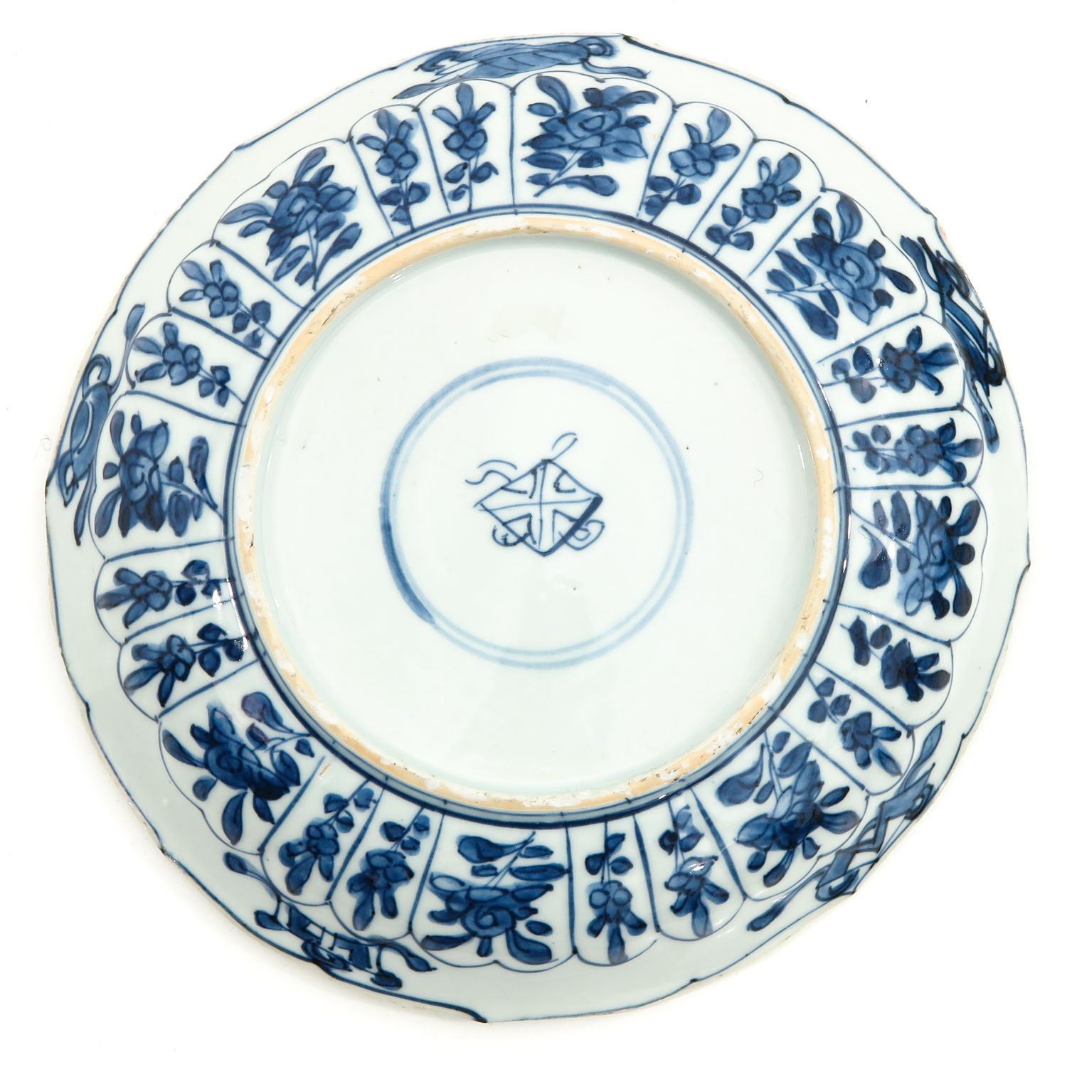 2 Blue and White Plates - Image 4 of 10