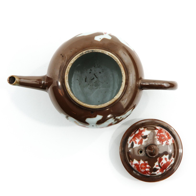 A Batavianware Teapot - Image 5 of 9