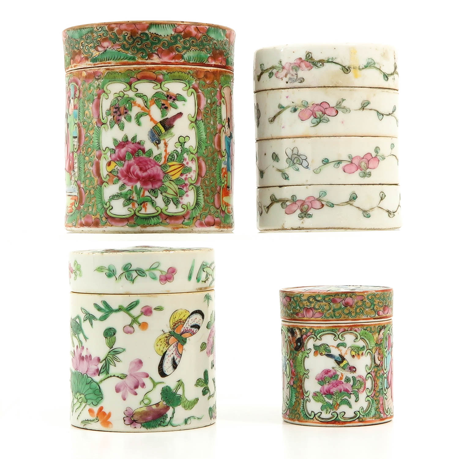 A Collection of 4 Chinese Boxes - Image 4 of 10