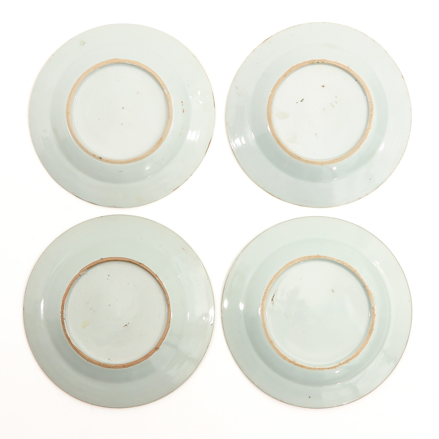 A Series of 4 Famille Rose Plates - Image 2 of 10