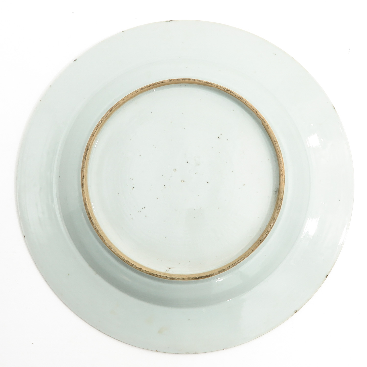 A Blue and Gilt Decor Charger - Image 2 of 6