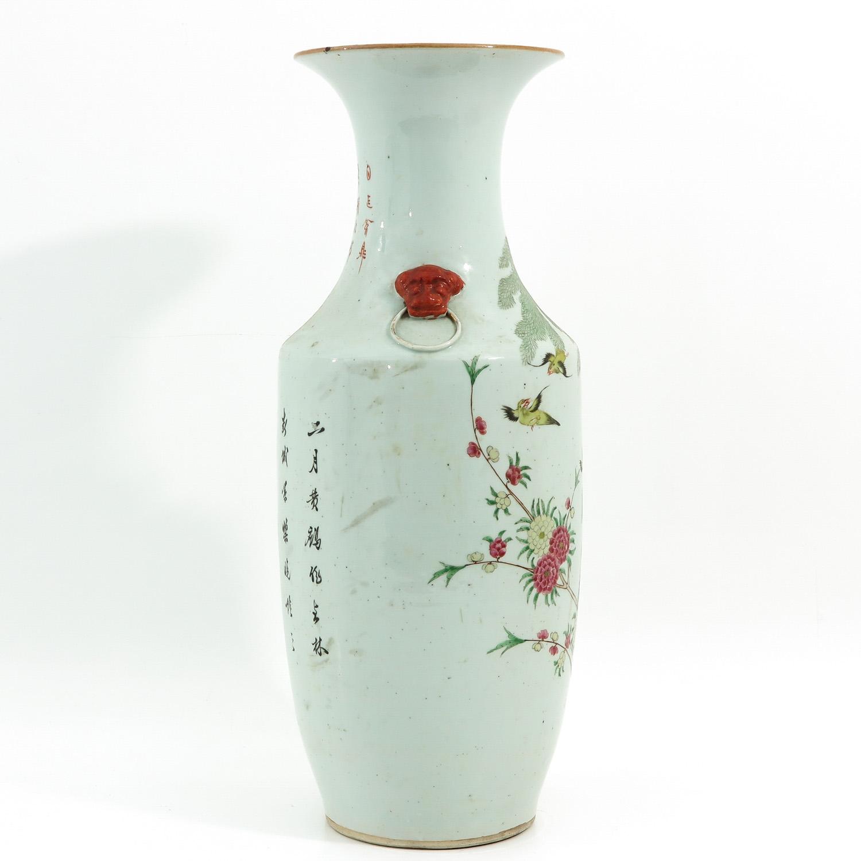 A Famille Rose Decor Vase - Image 4 of 9