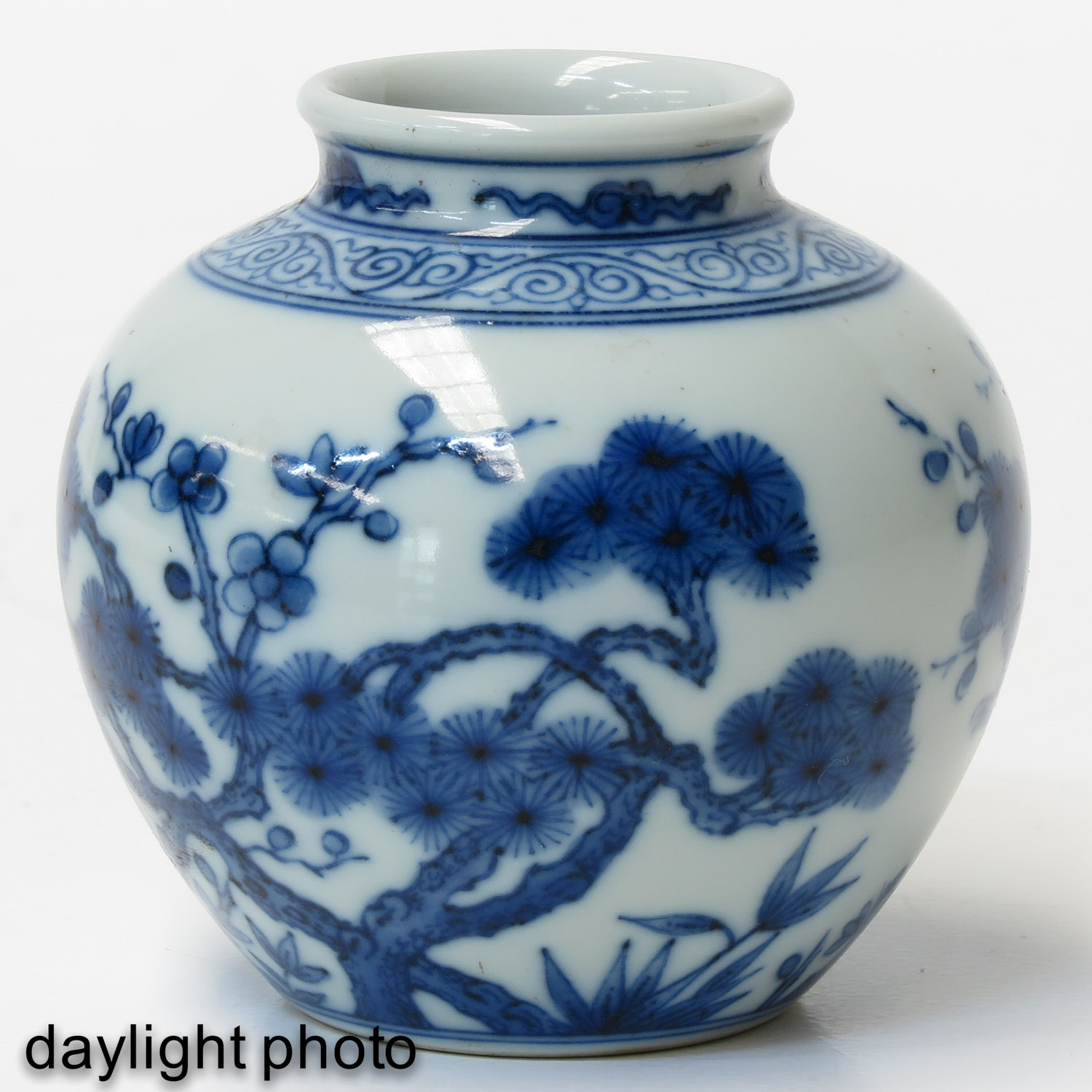 A Small Blue and White Vase - Image 7 of 9