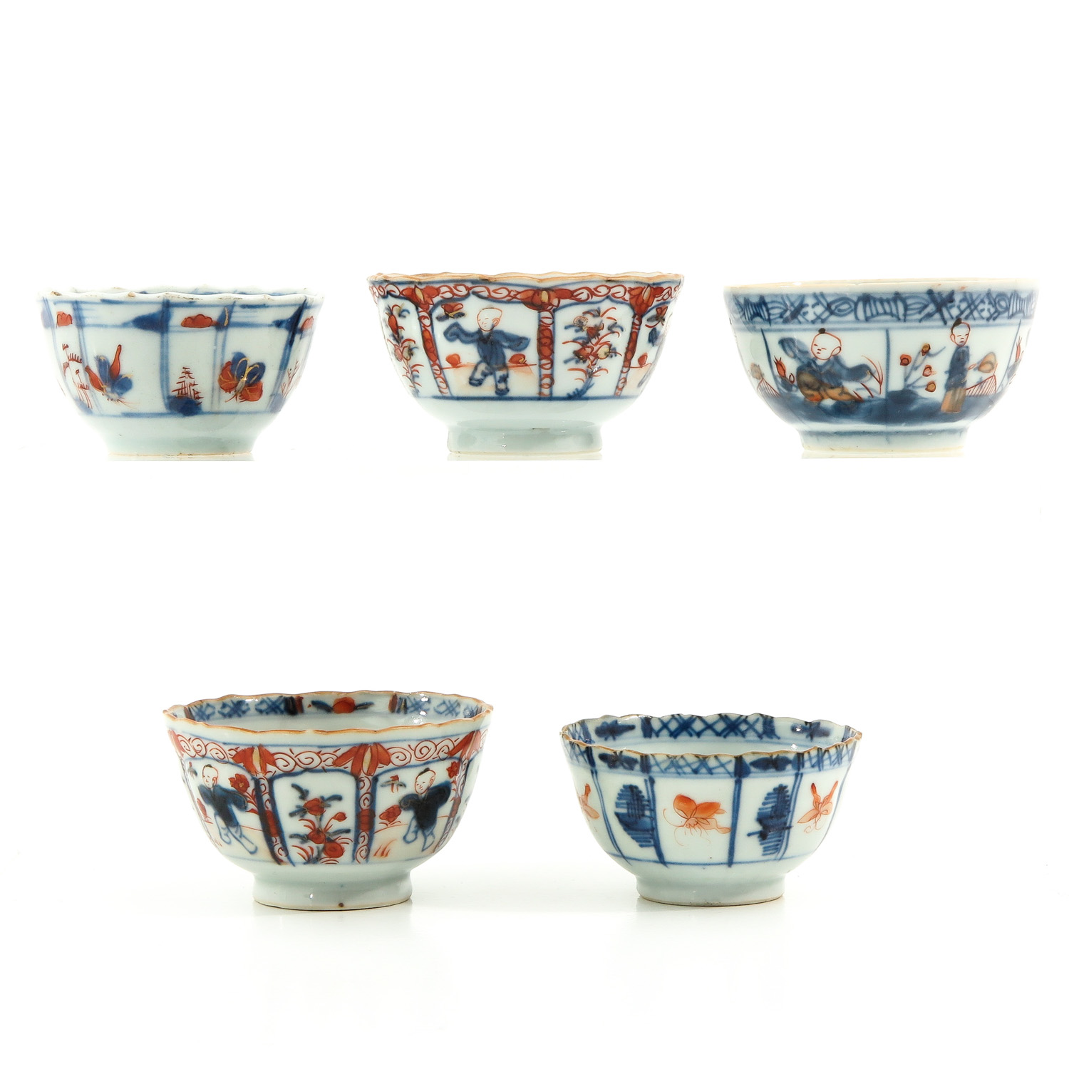 A Lot of 5 Cups and Saucers - Image 4 of 10