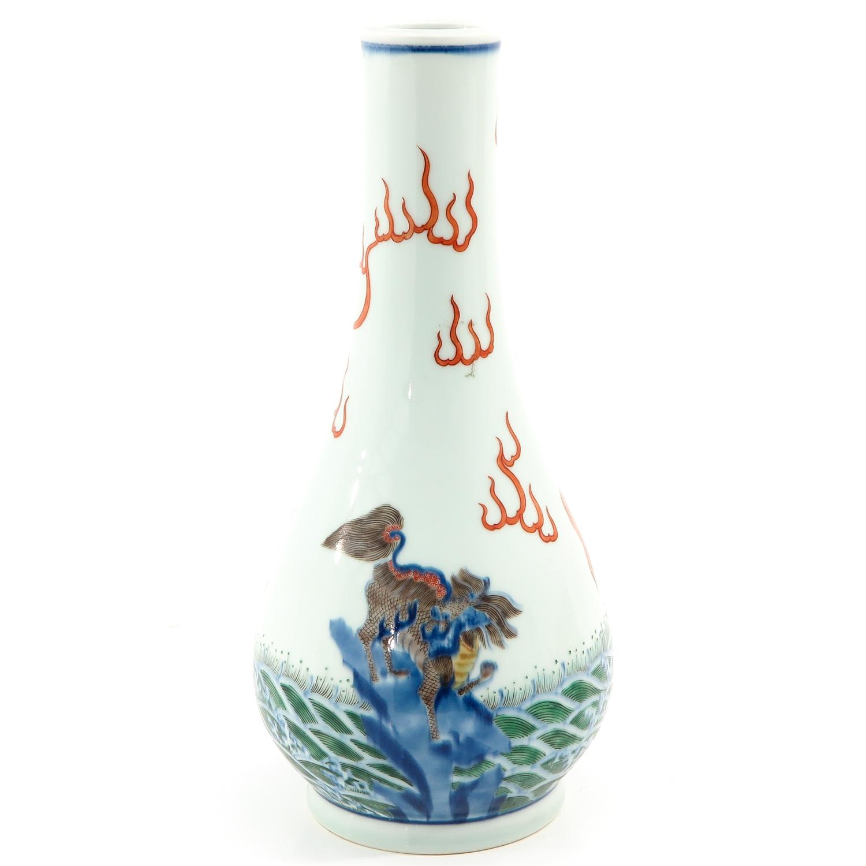 A Doucai Decor Vase