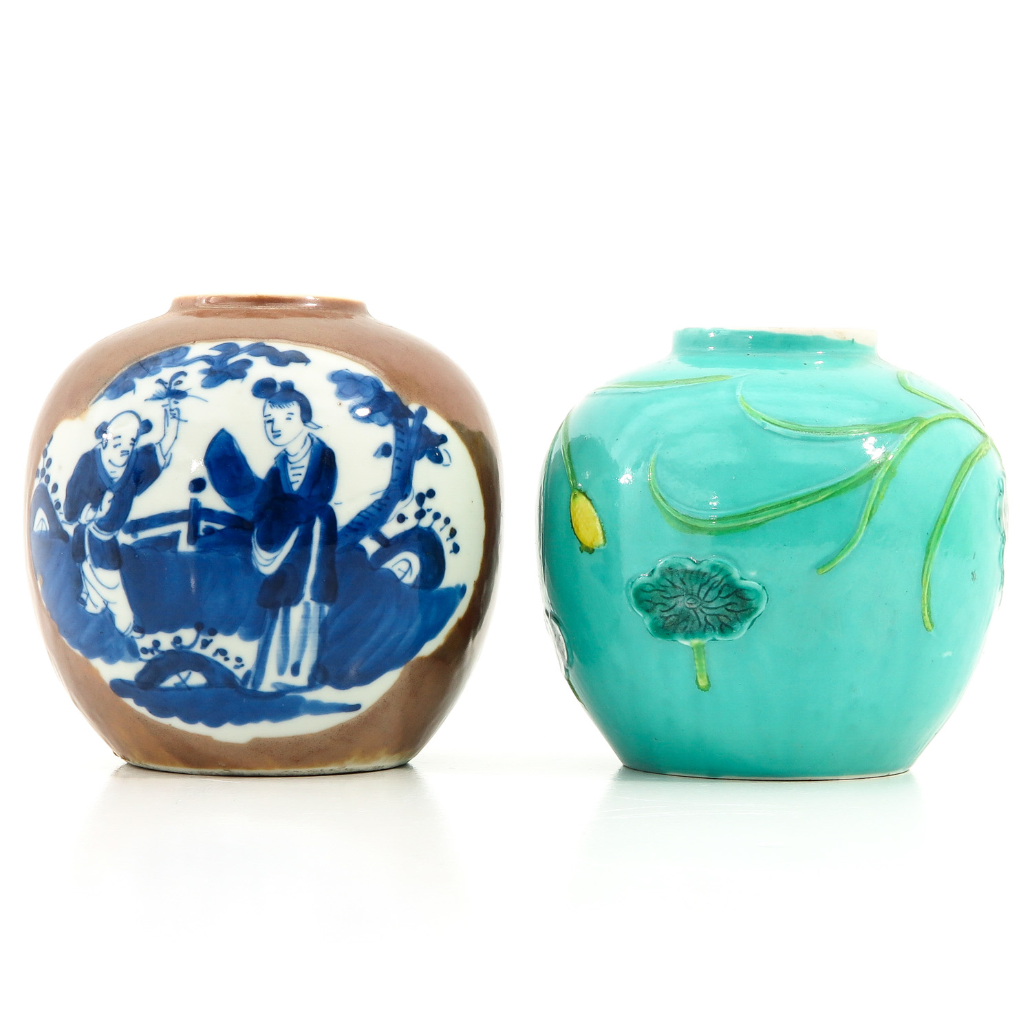 A Lot of 2 Ginger Jars - Image 3 of 10