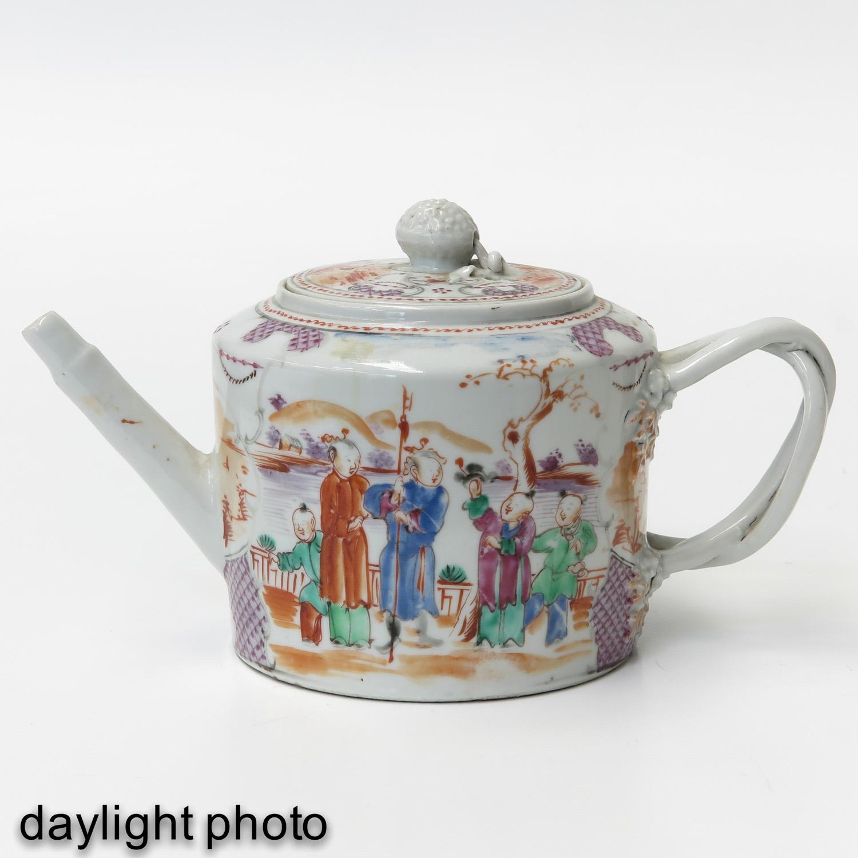 A Mandarin Decor Teapot - Image 7 of 9
