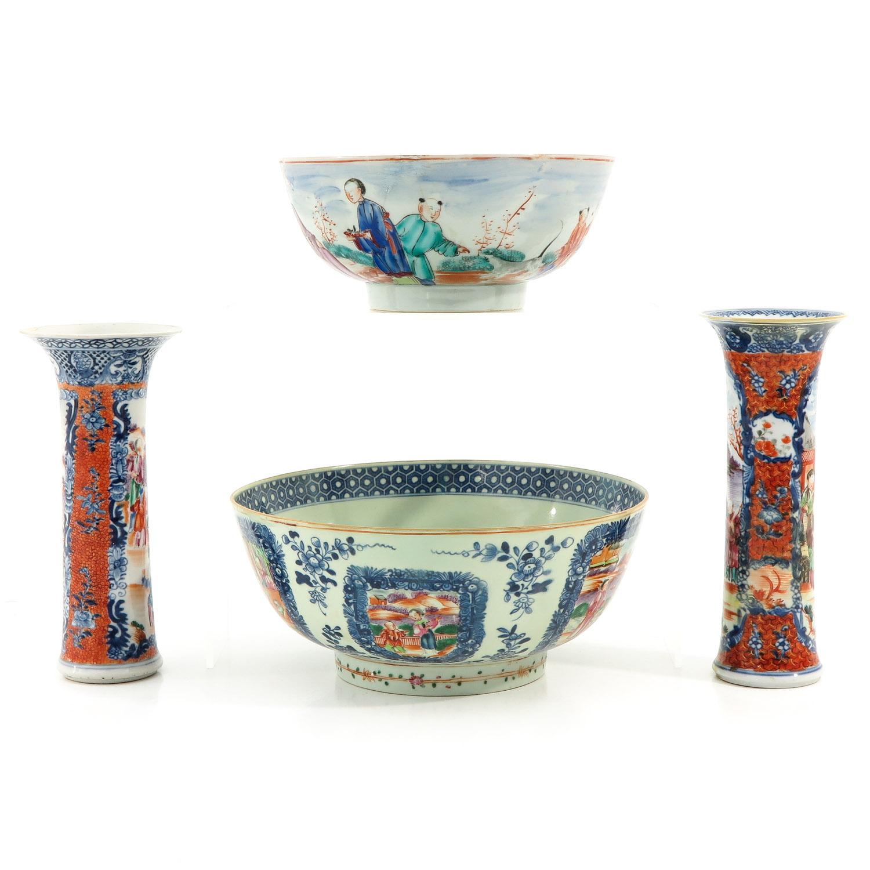A Lot of 2 Mandarin Decor Bowls - Image 2 of 10