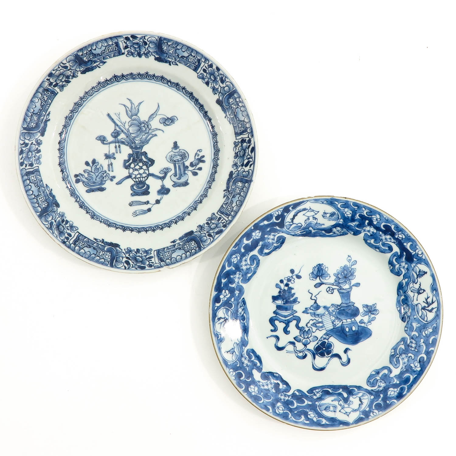 A Set of 6 Blue and White Plates - Image 7 of 10