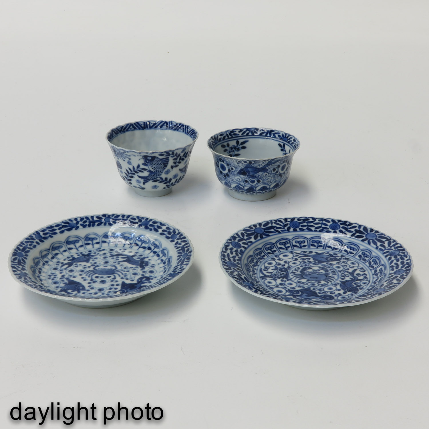 A Series of 12 Cups and Saucers - Image 9 of 10