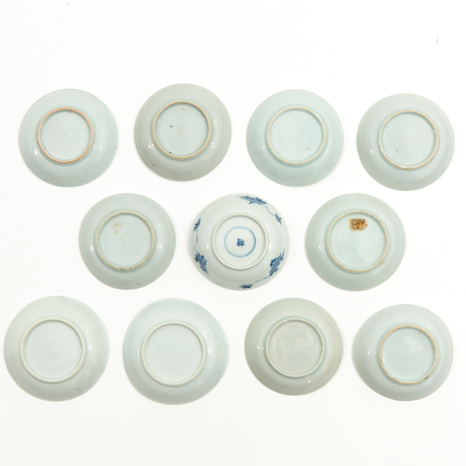 A Collection of 11 Small Plates - Image 2 of 10
