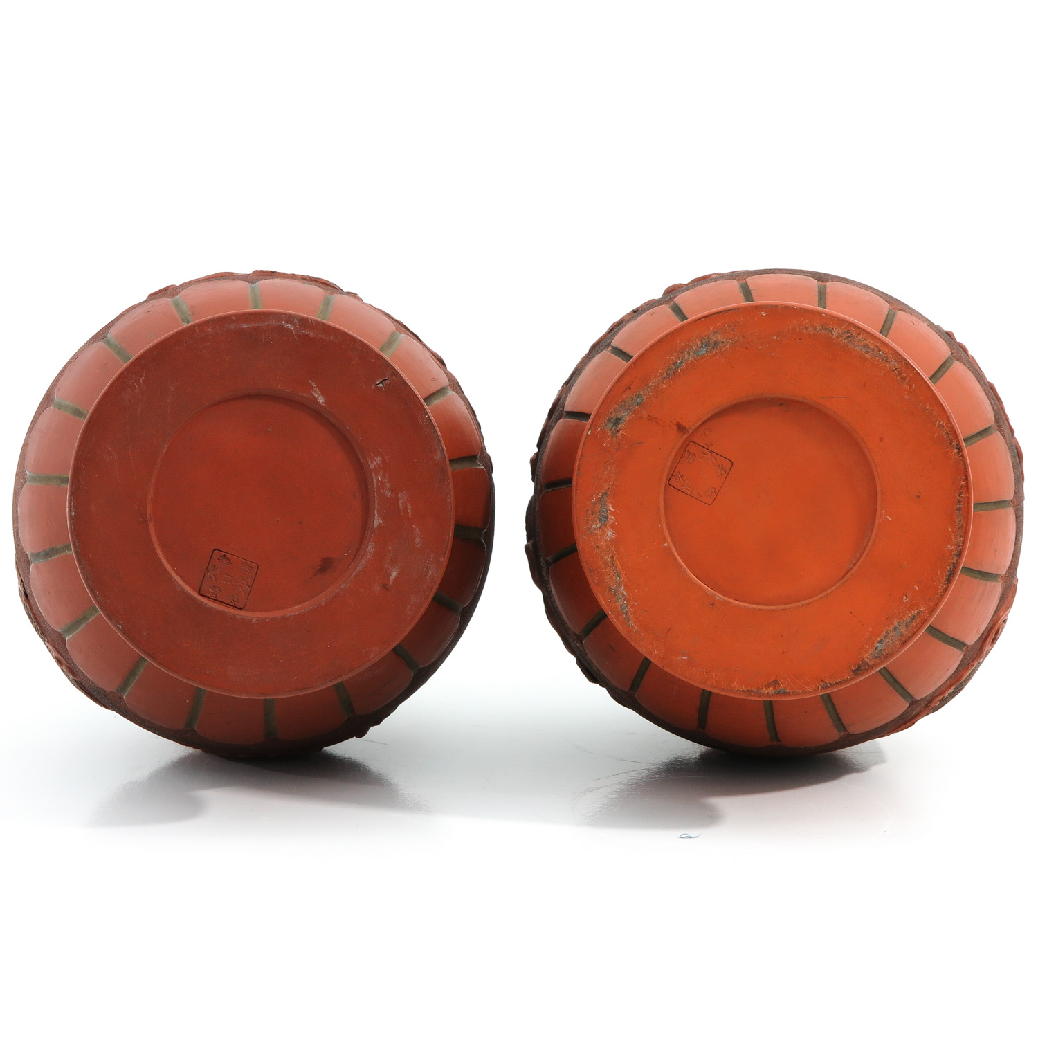 A Pair of Stoneware Vases - Image 6 of 10