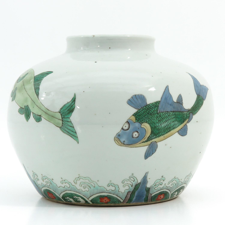 A Polychrome Jar - Image 4 of 9
