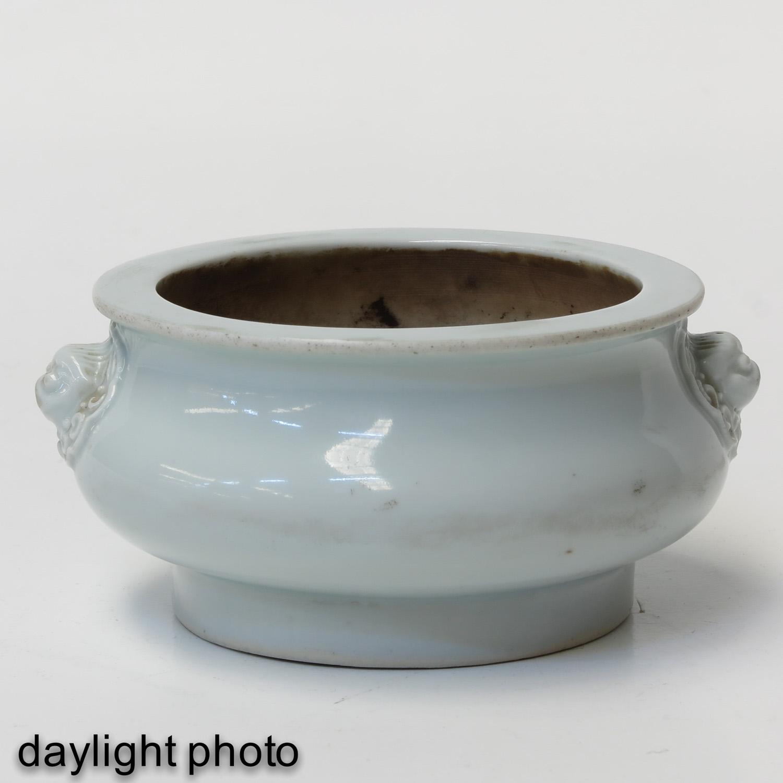 A Blanc de Chine Censer - Image 7 of 9