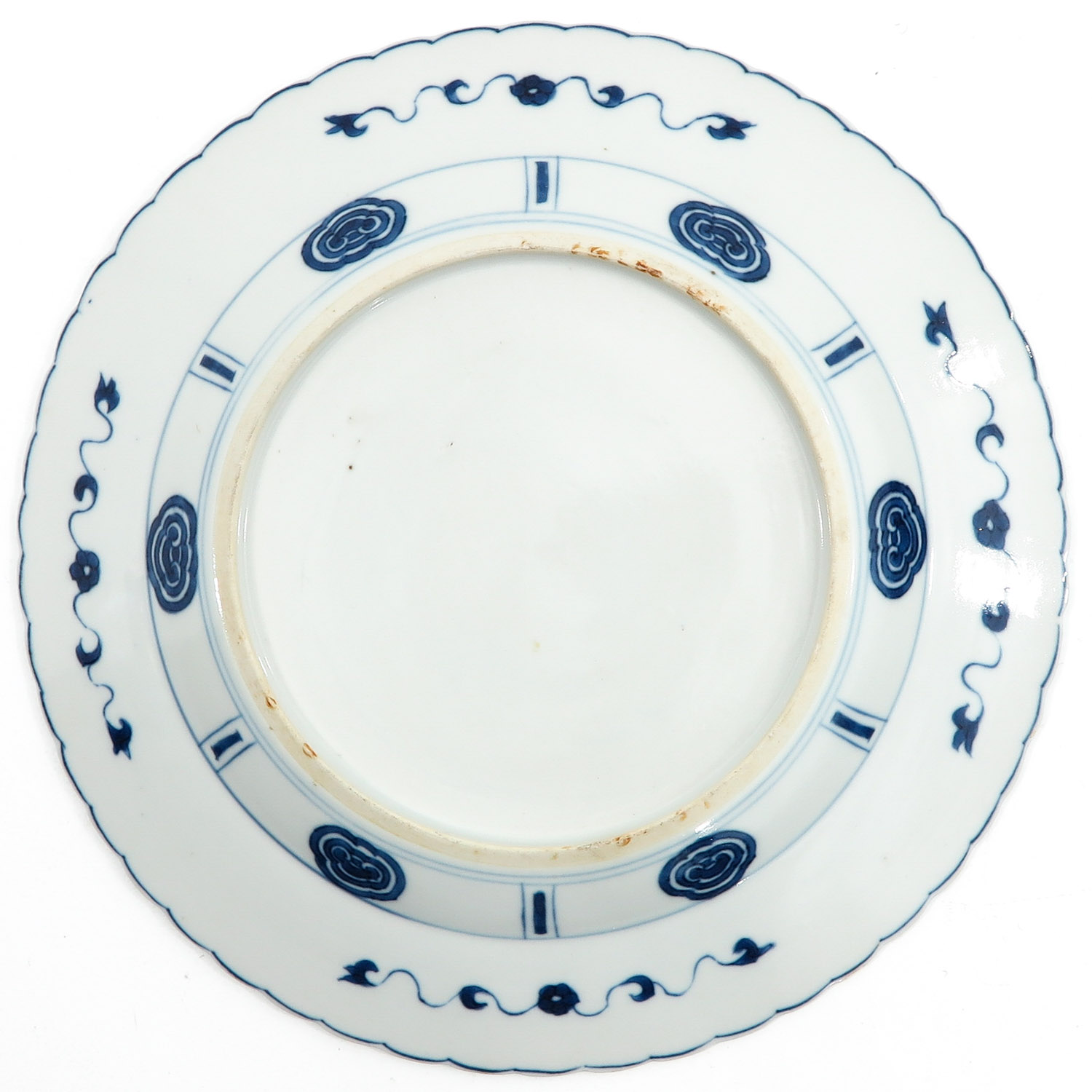 A Pair of Blue and White Plates - Image 4 of 9