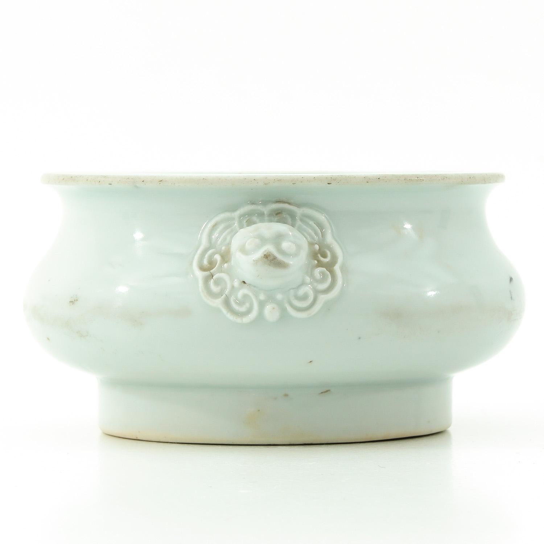 A Blanc de Chine Censer - Image 2 of 9