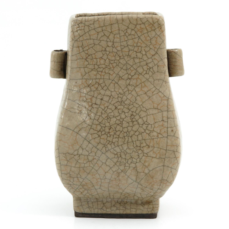 A Crackle Decor Hu Vase