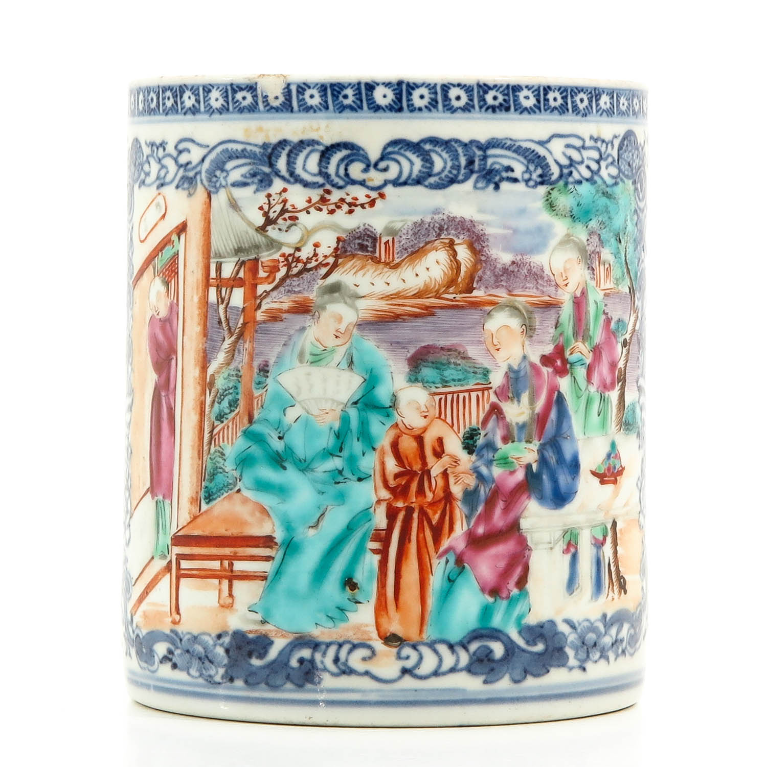 A Polychrome Decor Mug - Image 4 of 10