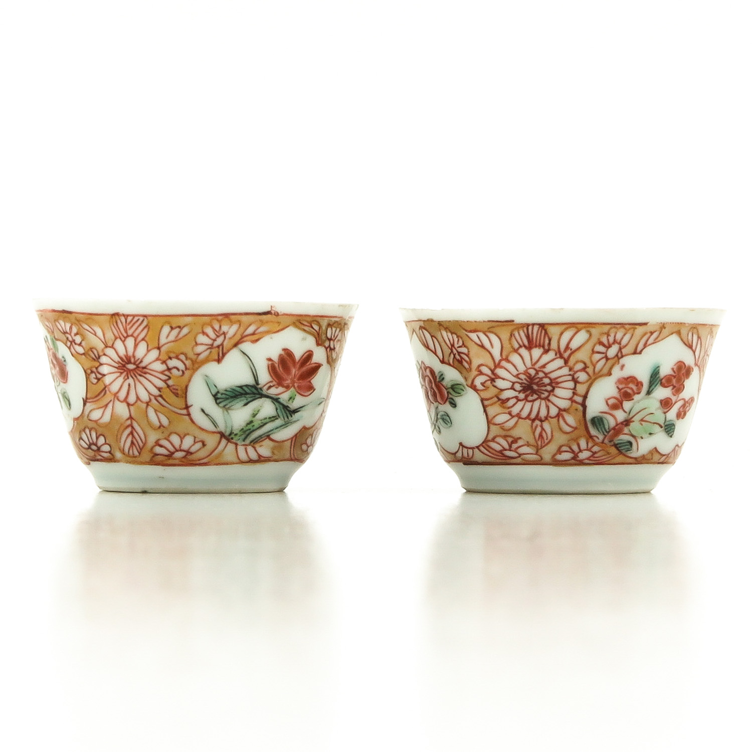 A Set of 2 Cups and Saucers - Image 2 of 10