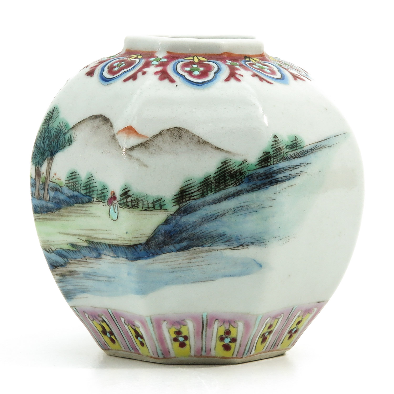 A Polychrome Vase - Image 2 of 9