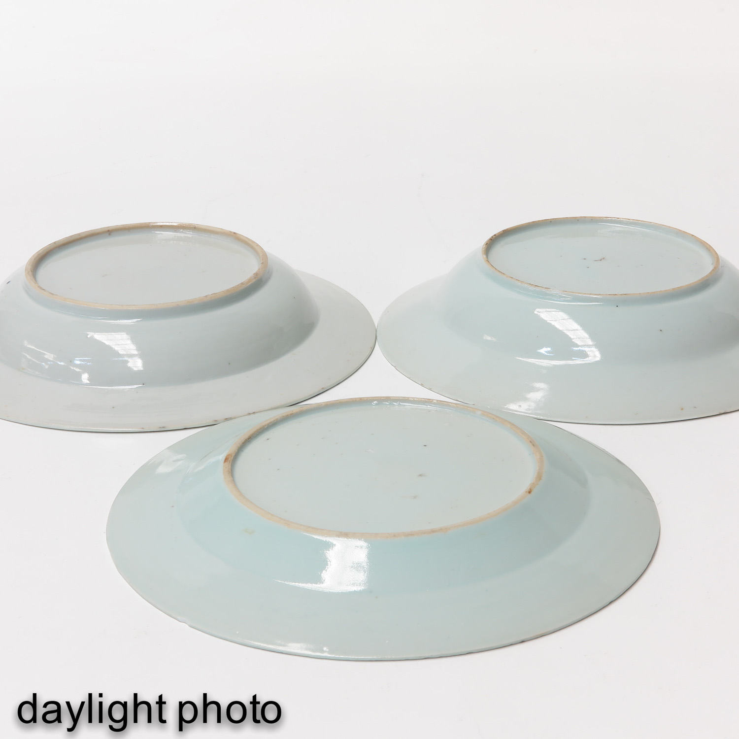 A Collection of 6 Blue and White Plates - Image 10 of 10