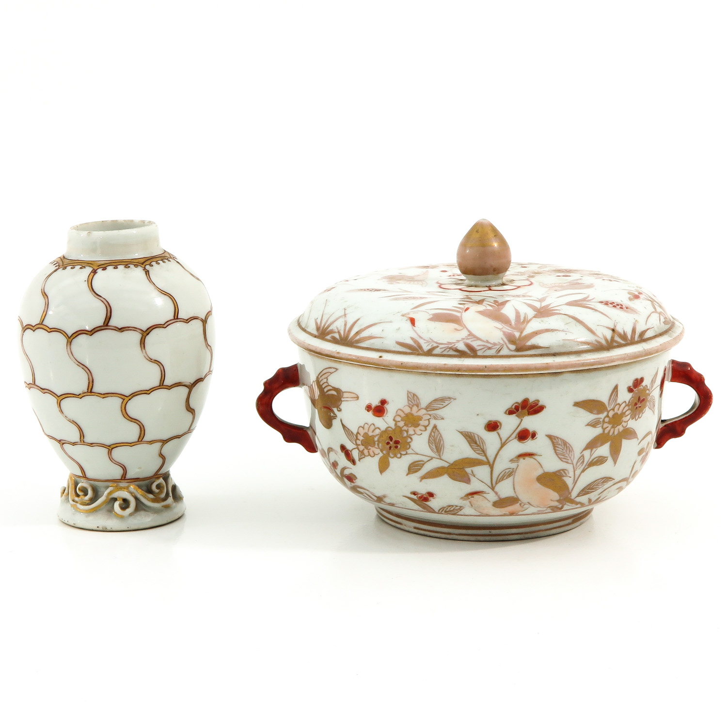 A Tea Box and Covered Dish