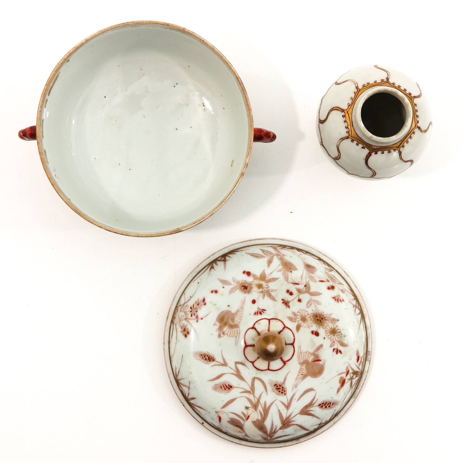 A Tea Box and Covered Dish - Image 5 of 9