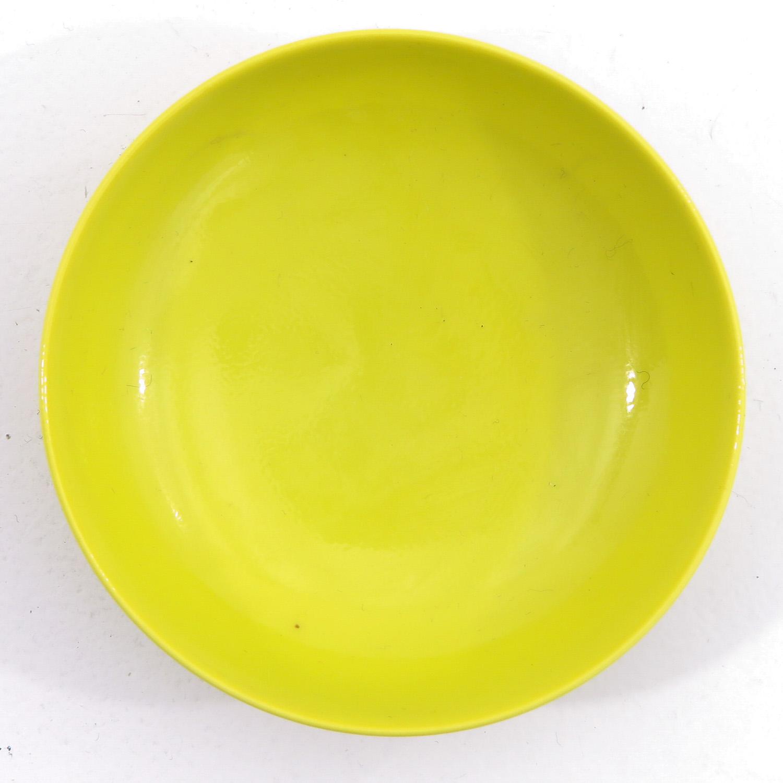 A Small Yellow Glaze Bowl - Image 5 of 9