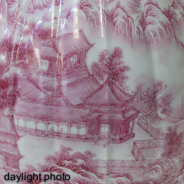 A Landscape Decor Vase - Image 10 of 10