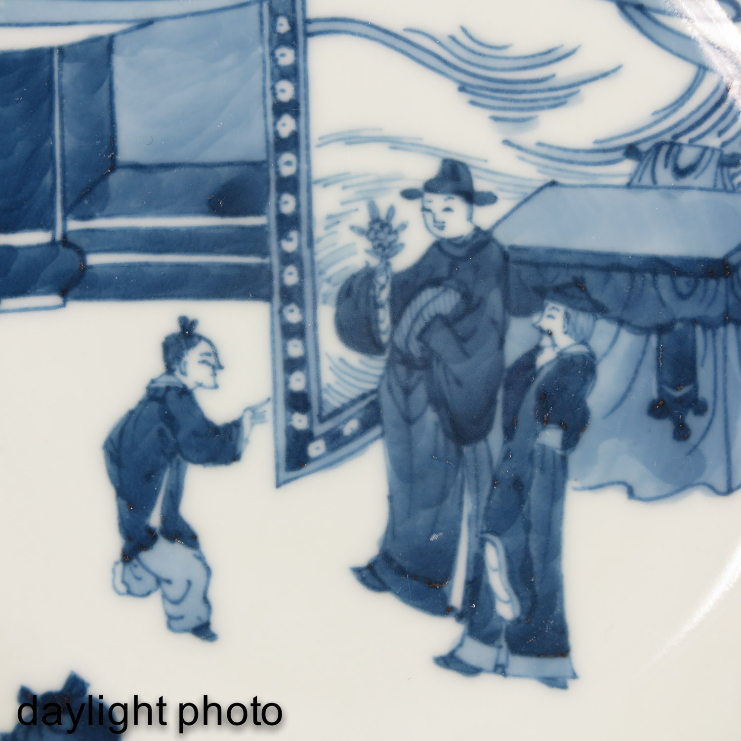 A Pair of Blue and White Plates - Image 10 of 10