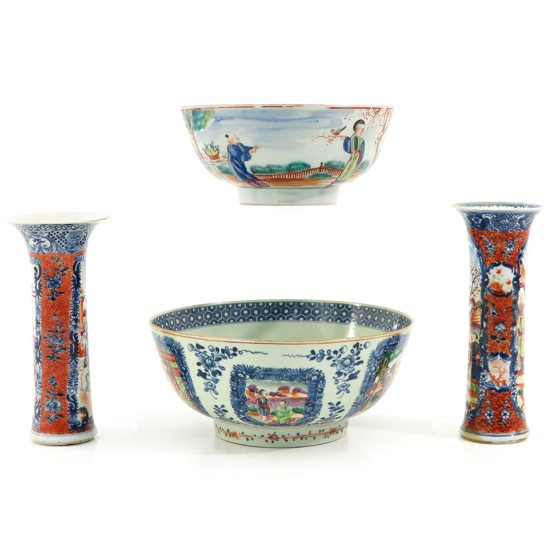 A Lot of 2 Mandarin Decor Bowls - Image 4 of 10