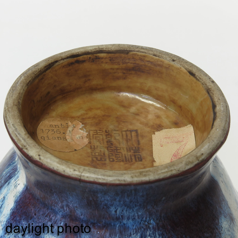 A Purple Glaze Vase - Image 8 of 10