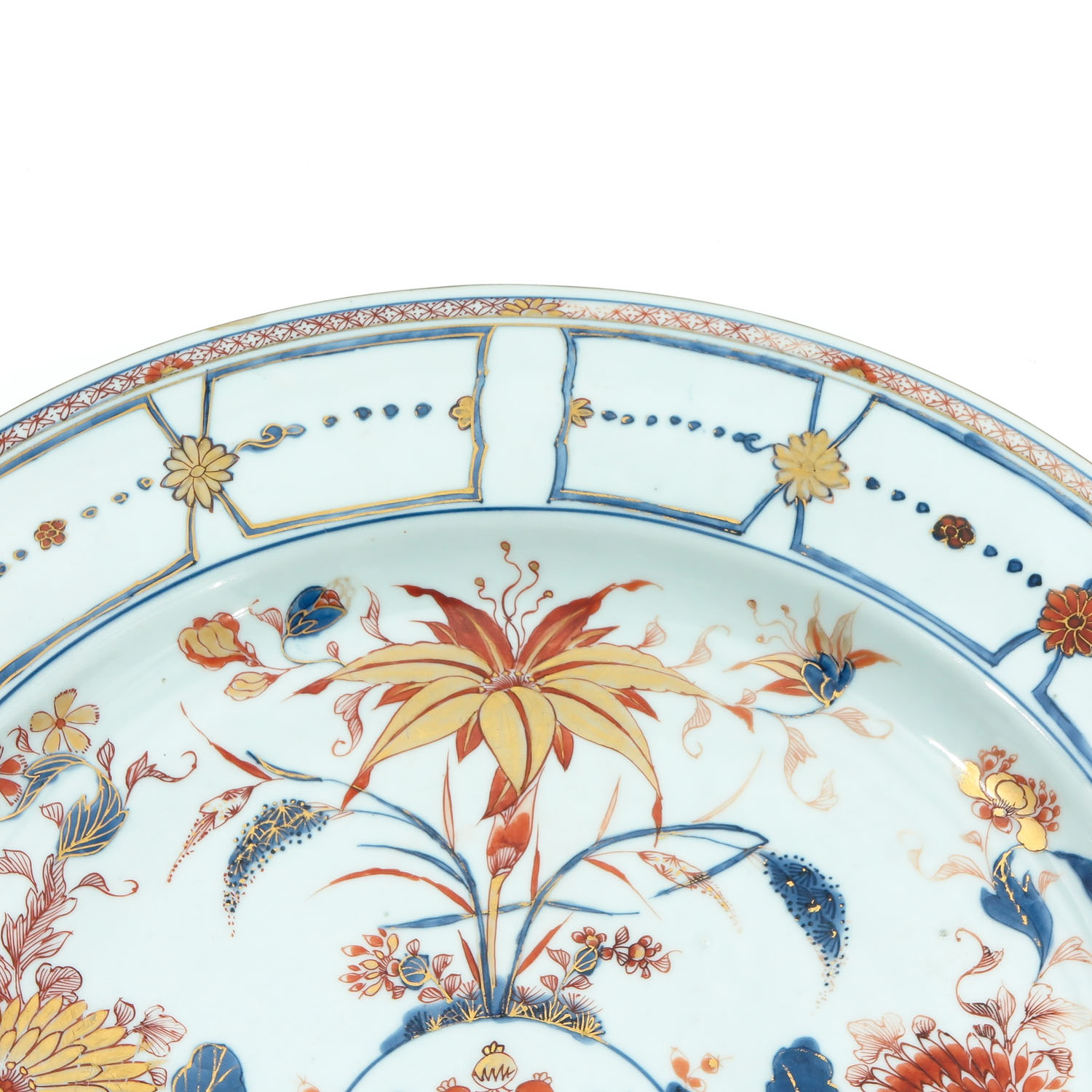 A Large Imari Charger - Image 3 of 7