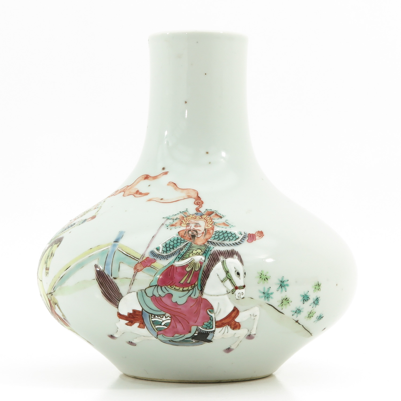 A Famille Rose Vase - Image 2 of 10