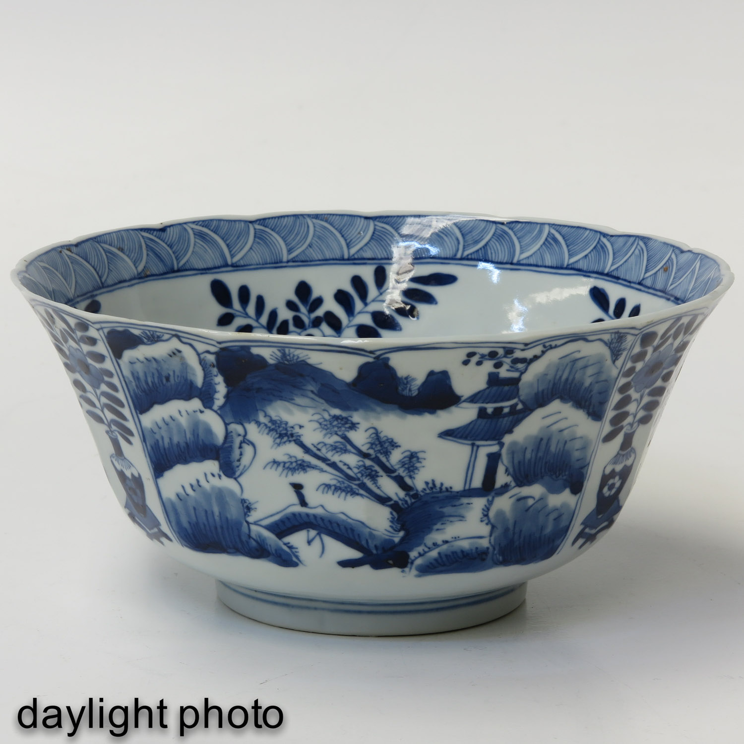 A Pair of Blue and White Bowls - Image 7 of 10
