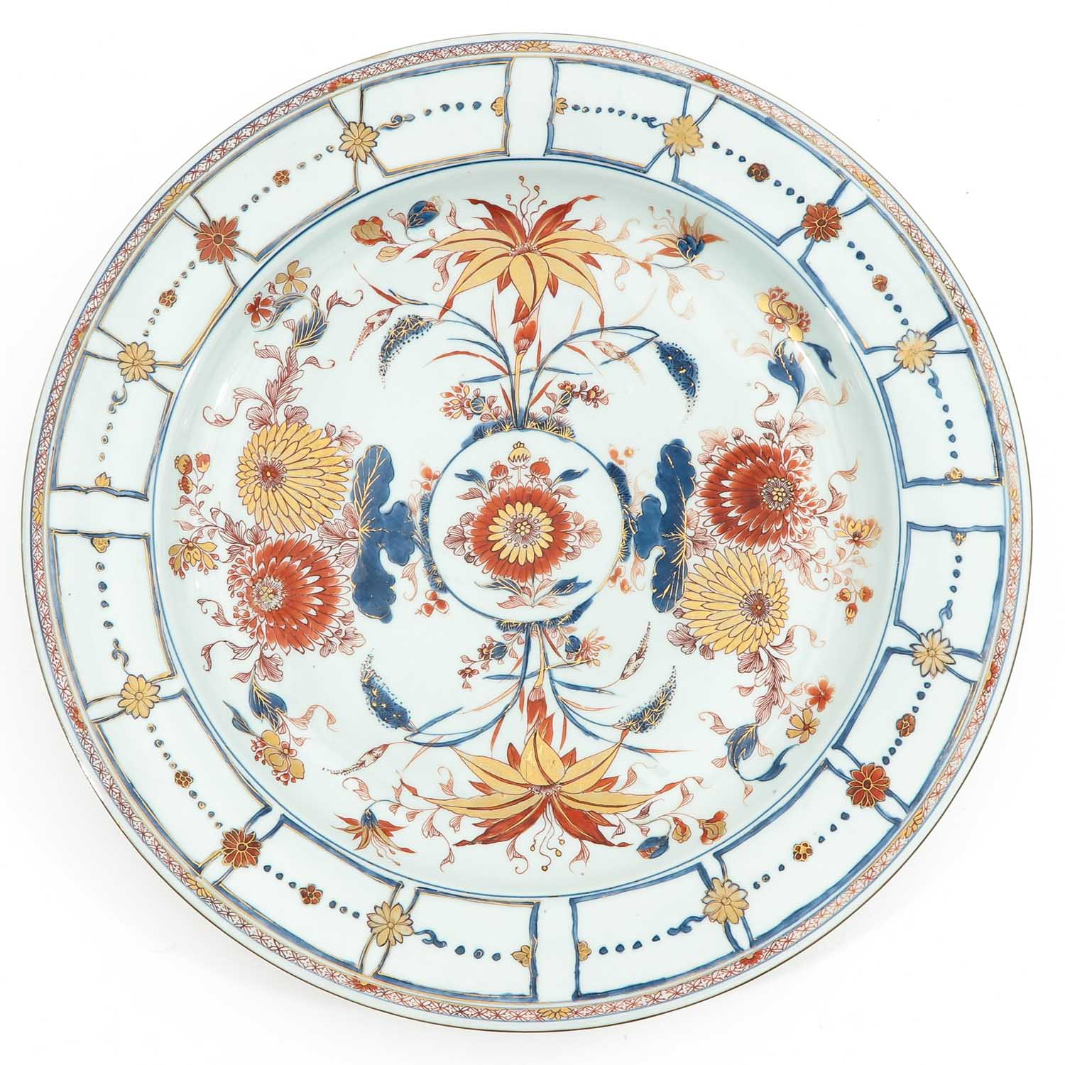 A Large Imari Charger