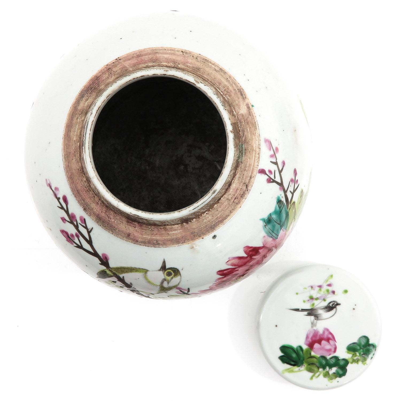 A Polychrome Decor Ginger Jar - Image 5 of 10