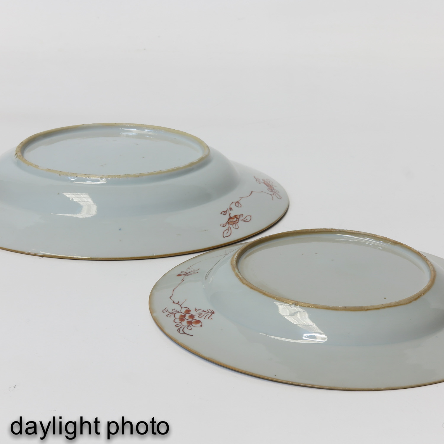 A Collection of 6 Polychrome Decor Plates - Image 8 of 9